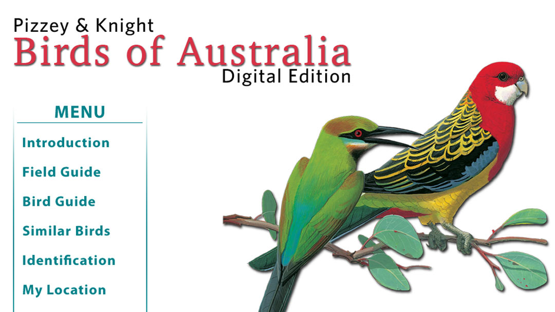 Video Overview: Pizzey & Knight Birds of Australia Digital Edition