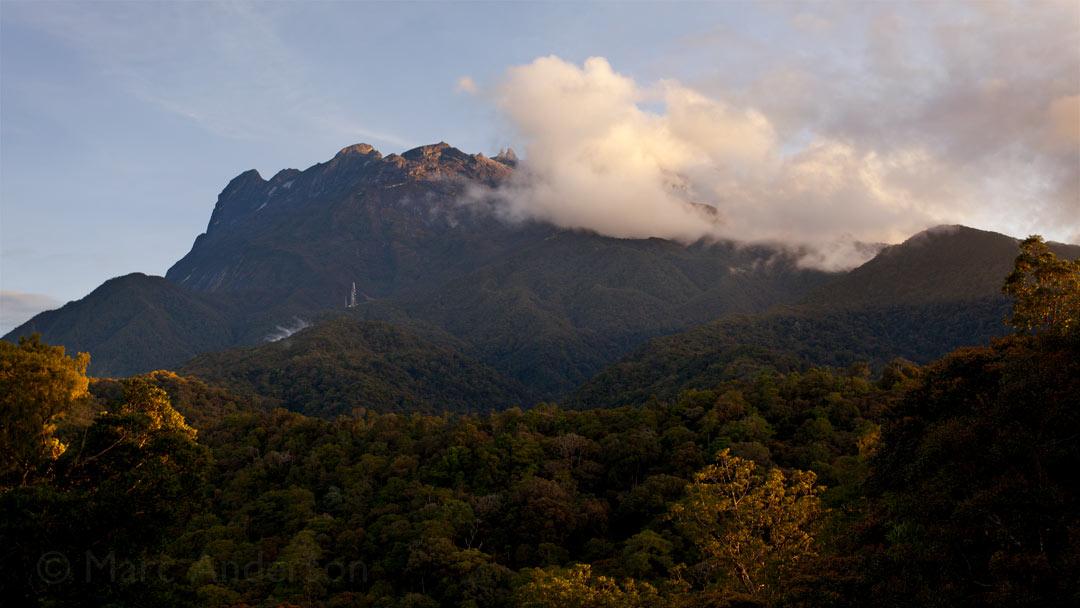 Windy Morning on Mount Kinabalu, Malaysia