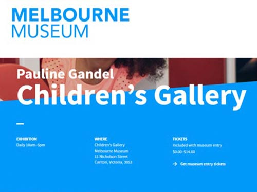 Melbourne Museum – Children's Gallery