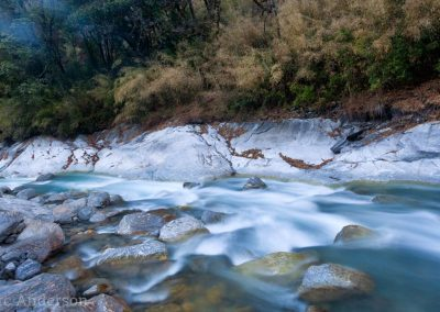 River in the Langtang region