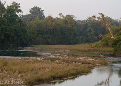 Karnali River in Bardia National Park