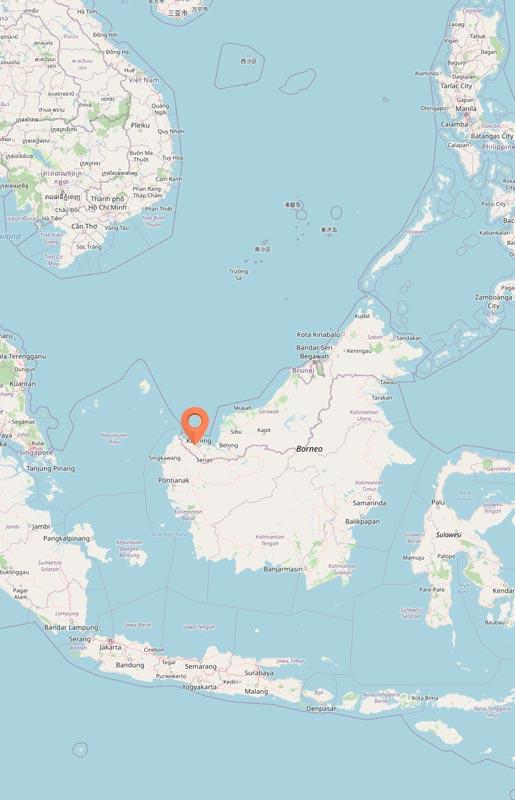 Map - Kubah, Sarawak