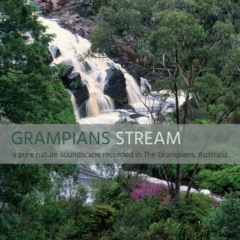 Grampians Stream - Album Cover